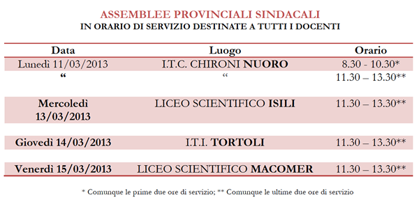 assemblee marzo 2013