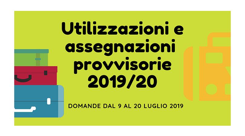 Utilizzazioni e Assegnazioni provvisorie 2019/20