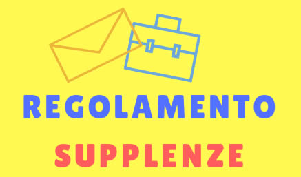 Regolamento supplenze